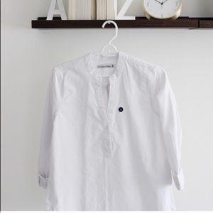 White blouse form Abercrombie